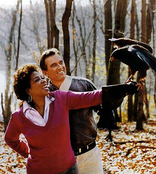 Robert F. Kennedy Jr. with Oprah Winfrey