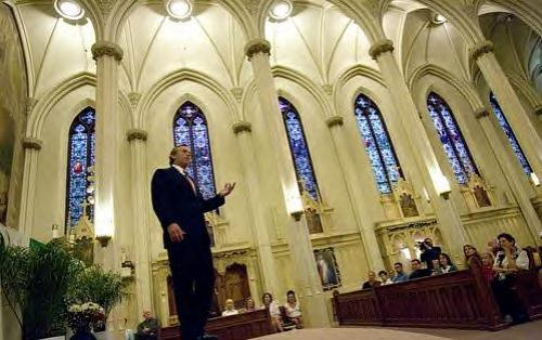 Robert F. Kennedy Jr. at the Shrine of St. Francis