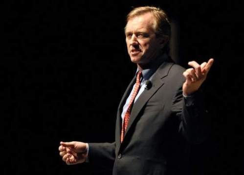RFK Jr. speaking at Purdue University earlier this week. Although still photography was permitted, the news media was not allowed to take audio or video of his remarks.